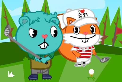 HTF OCs: Golfing