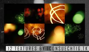 12 Light Textures Set