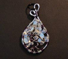 Moonstones in Purple n Silver by SilverHauntArmoury