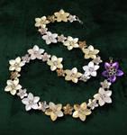 Alternating Scale Flower Belt by SilverHauntArmoury