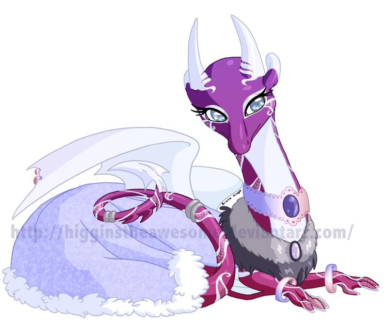 Flight Rising: Isolde by HigginstheAwesome