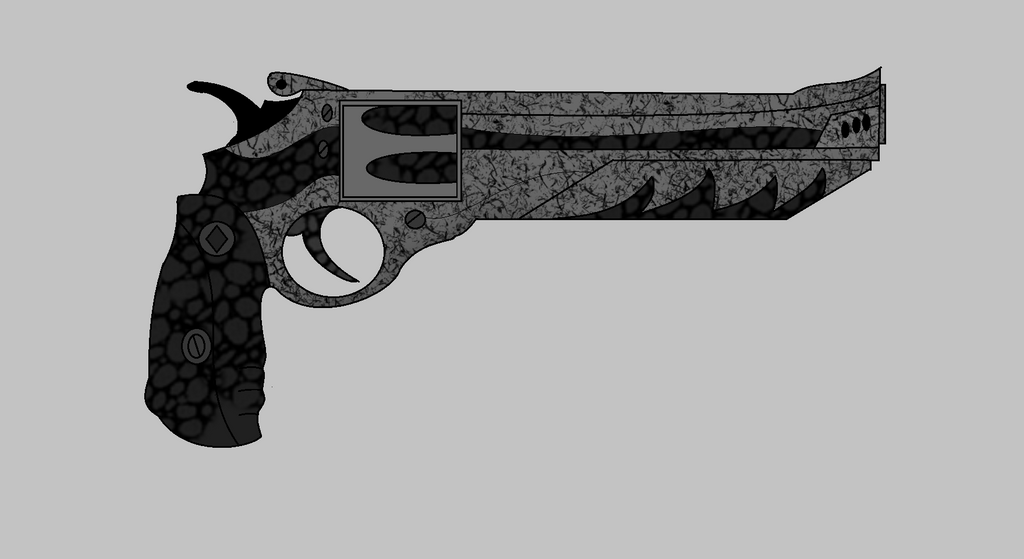 227 Black Rose Revolver by darkflamesangel