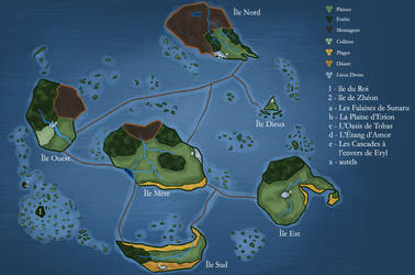 Carte de l'archipel