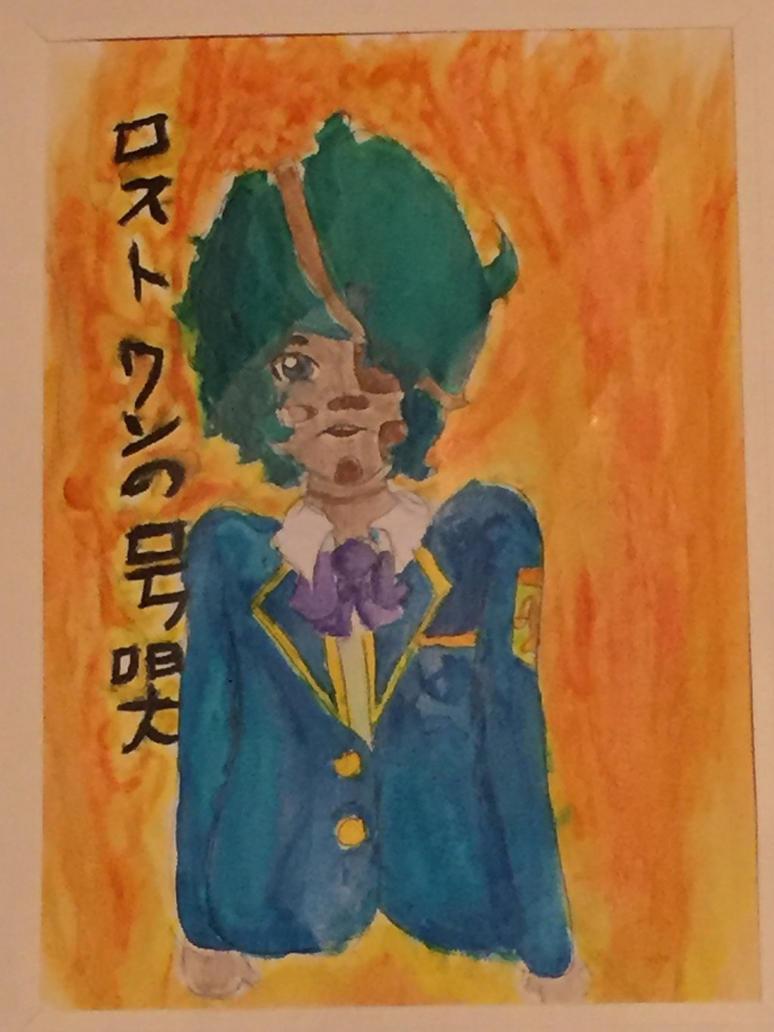 Teal school boi  by sweetwatermelongirl