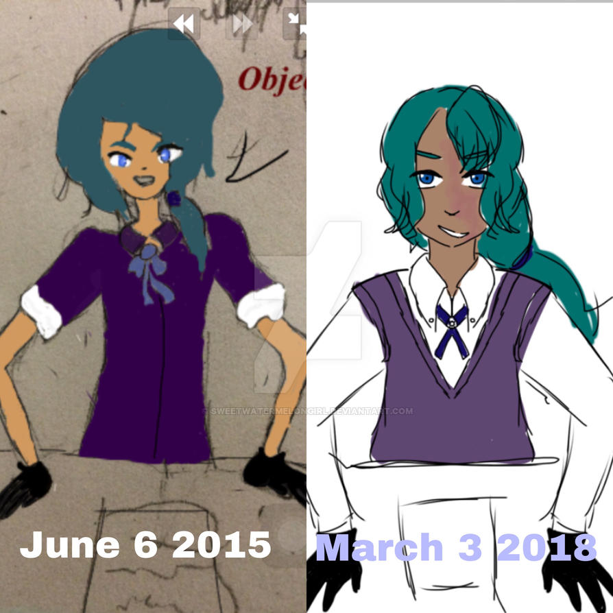 Redraw number 1  by sweetwatermelongirl