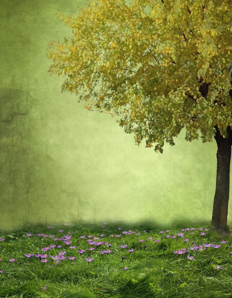 BG  Under The Tree by Avahlon-Stock