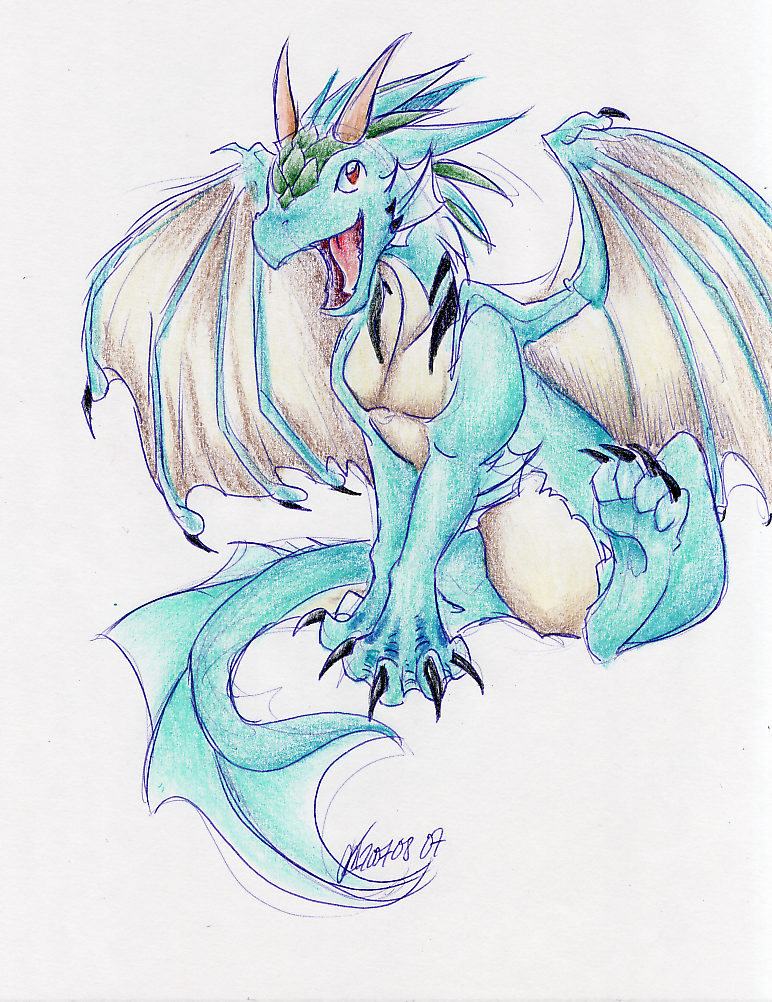 Cute Baby Dragon Coloring Pages Dragoart