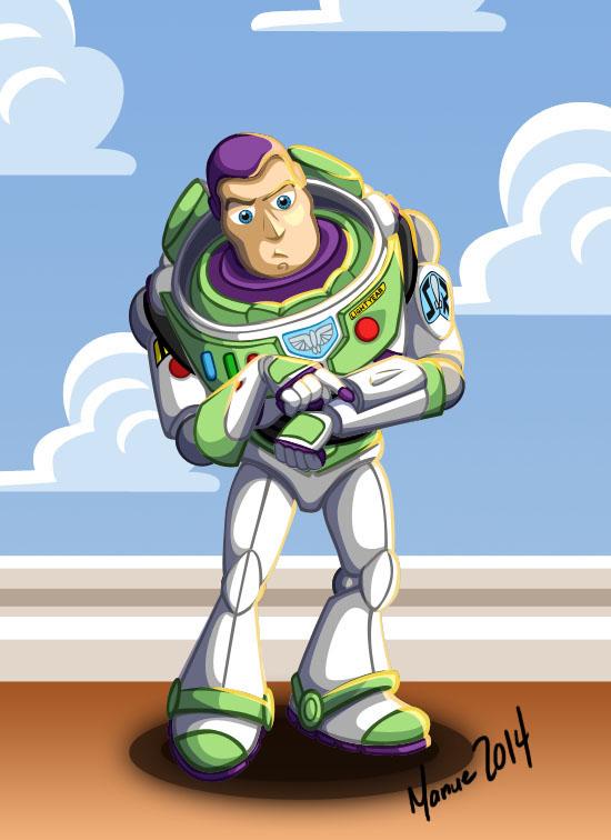 Hello it's Buzz Lightyear by ManueC