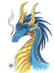 Blue dragon Firenze