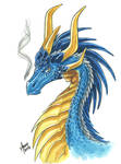 Blue dragon Firenze