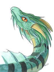 Green dragon by ManueC