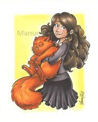 Hermione Granger by ManueC