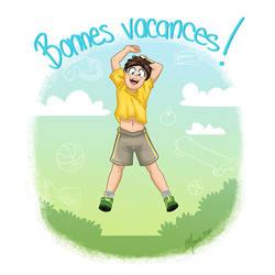 Bonne vacances by ManueC