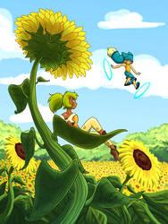 sunflower by ManueC
