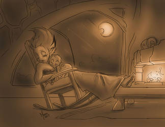 Night by ManueC