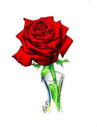 La rose by ManueC