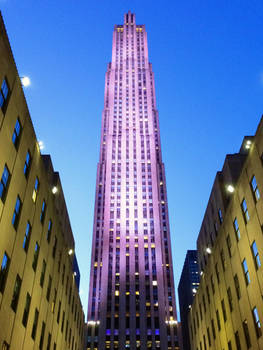 Rockefeller at Late Afternoon