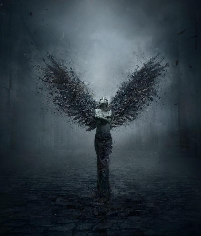 Angel of destruction by zmijka2