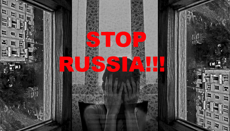 Stop russia by ulainthedark