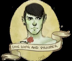 Punk Spock by DemonoftheheavensJr