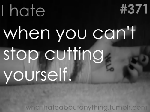 quotes about cutting yourself by bloodfang19 on DeviantArt