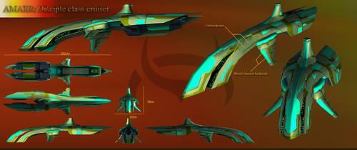 'Disciple' Spacecraft by gordon131