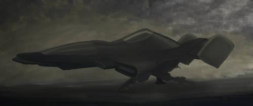 Spaceship Concept by gordon131