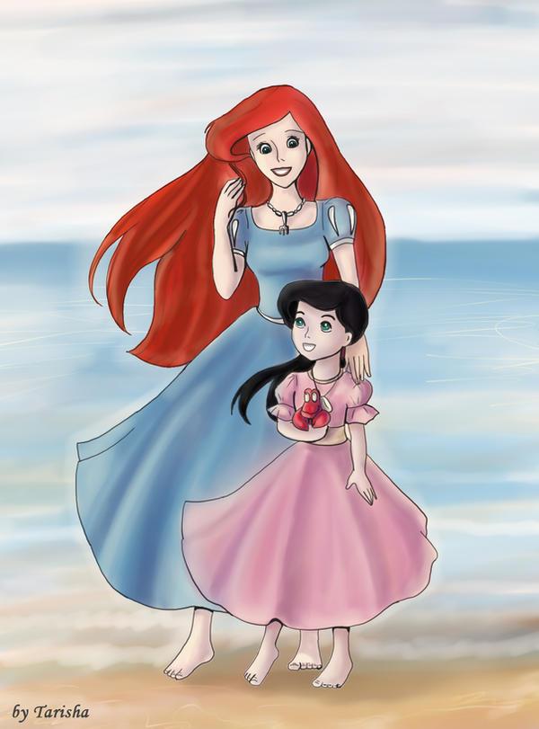 Ariel And Melody by Tarisha