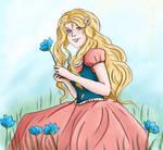 Flowers Are Blue by Tarisha