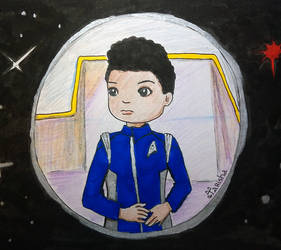 Michael Burnham by Tarisha
