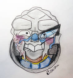 Garrus Emoji + Mass Effect Emojis Video Link! by Tarisha