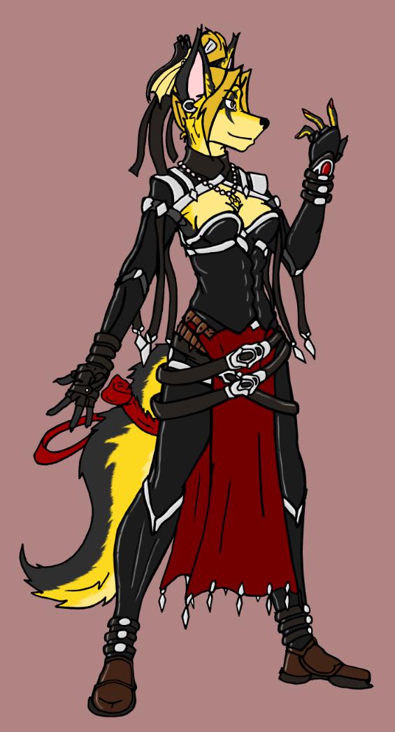 Keaton, new dress by tapewolf