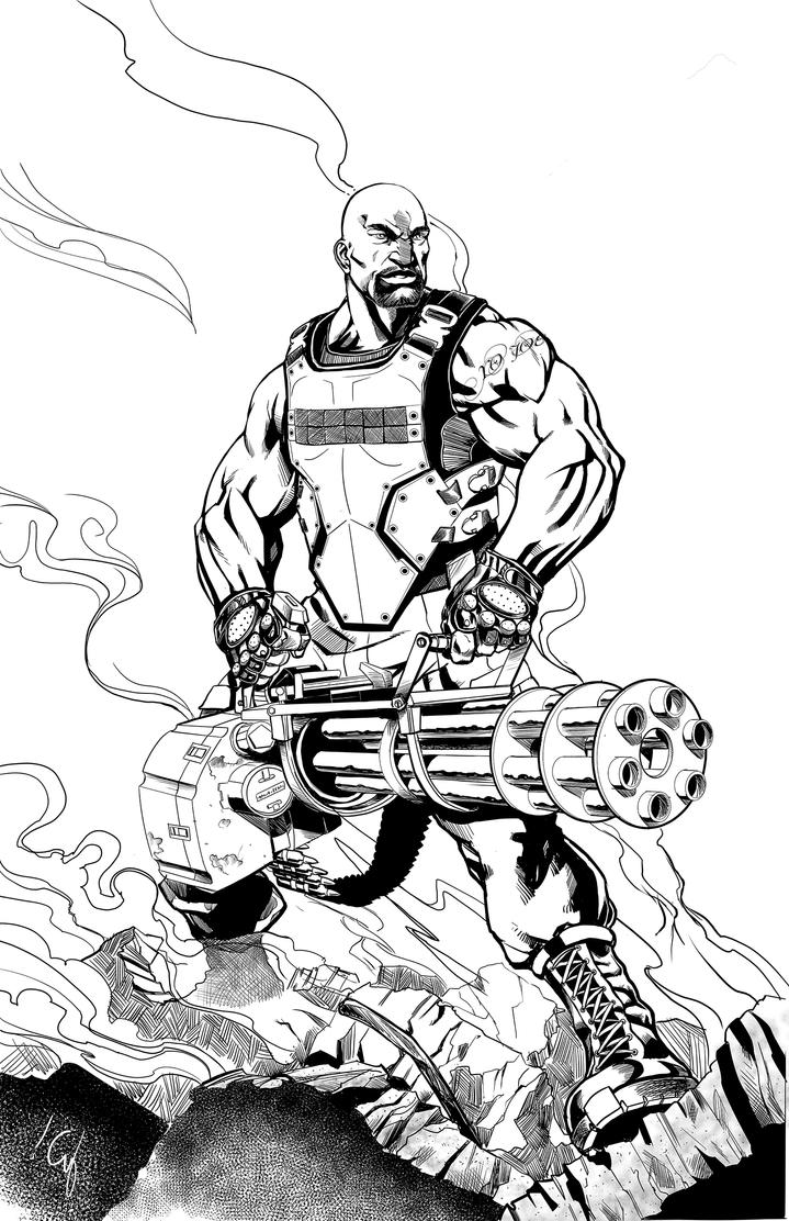 Coloring page of roadblocks coloring pages for Gi joe coloring pages