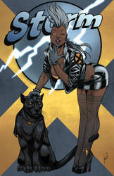 Marvel Bombshells: Storm... all in color :)