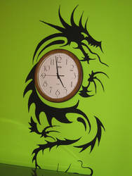 Dragon clock by Teniska232