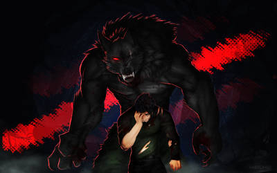 The Big Bad Wolf [SpeedPaint]