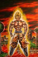 Goku by JPKegle