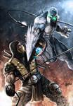 Glacius vs Scorpion