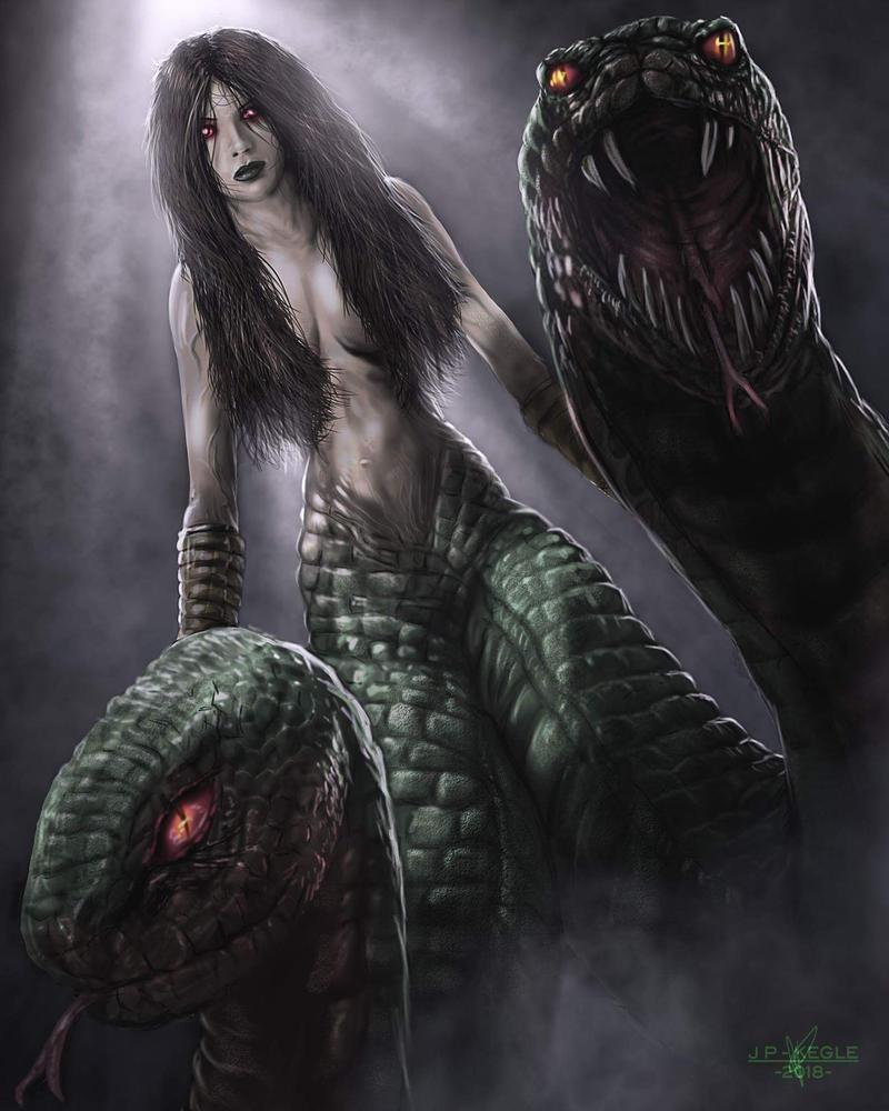 Medusa by JPKegle