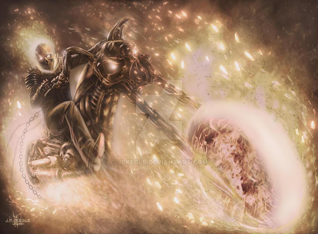 Ghost Rider by JPKegle