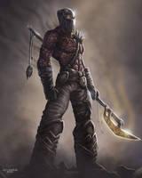 Gorent the shredder by JPKegle