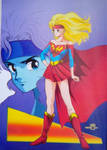 Anime Supergirl from Justice by SraklasSpikedclub