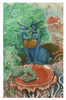 ArtTrade with MiriKyu: Neferti by Truthdel