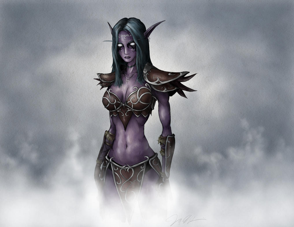 Tyrande Whisperwind by Domiticus