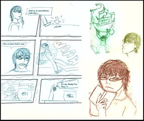 StephenFontaineEoaF Sketchdump by PerfectImperfectionx
