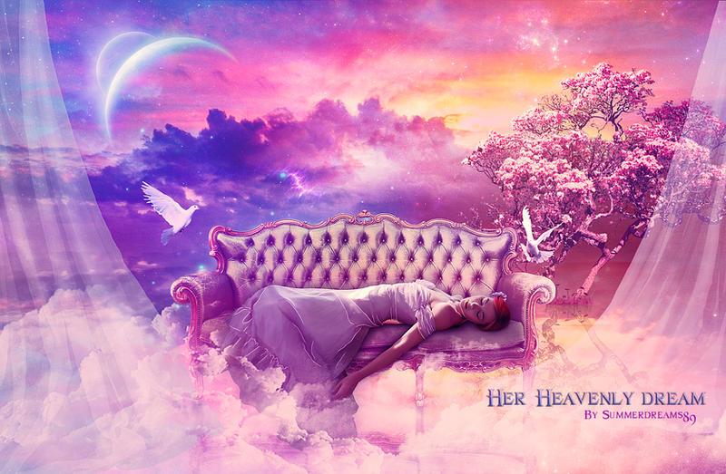 .:Her Heavenly Dream:. by SummerDreams-Art