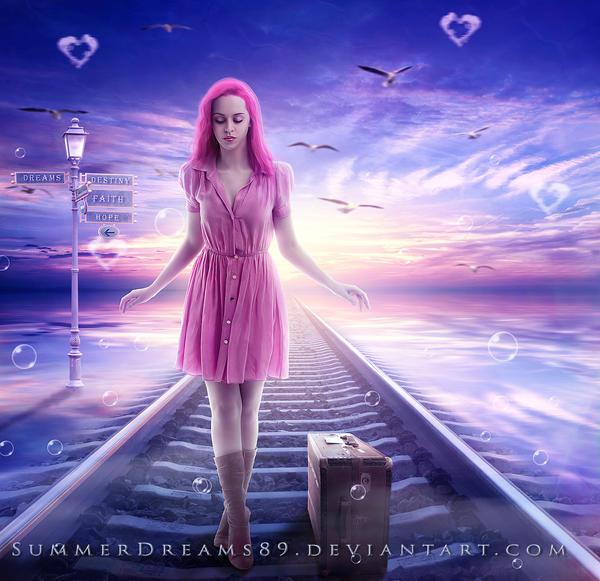 I walk alone... by SummerDreams-Art