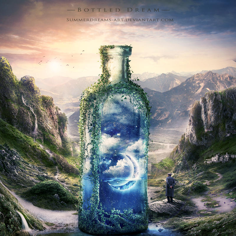 :: Bottled Dream :: by SummerDreams-Art