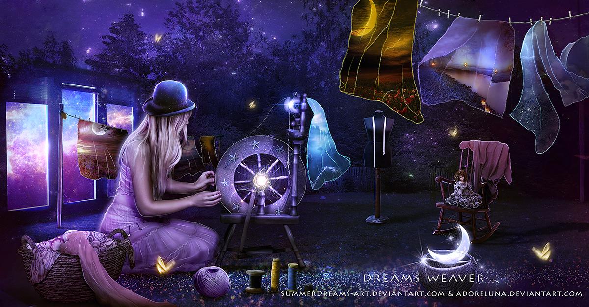 Dreams Weaver-Collaboration by SummerDreams-Art