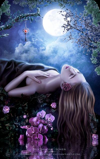 Moonlight Lover by SummerDreams-Art